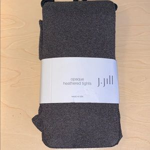 J.Jill opaque heathered tights